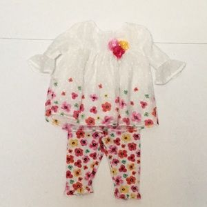 NANNETTE BABY GIRL 2 PIECE SET